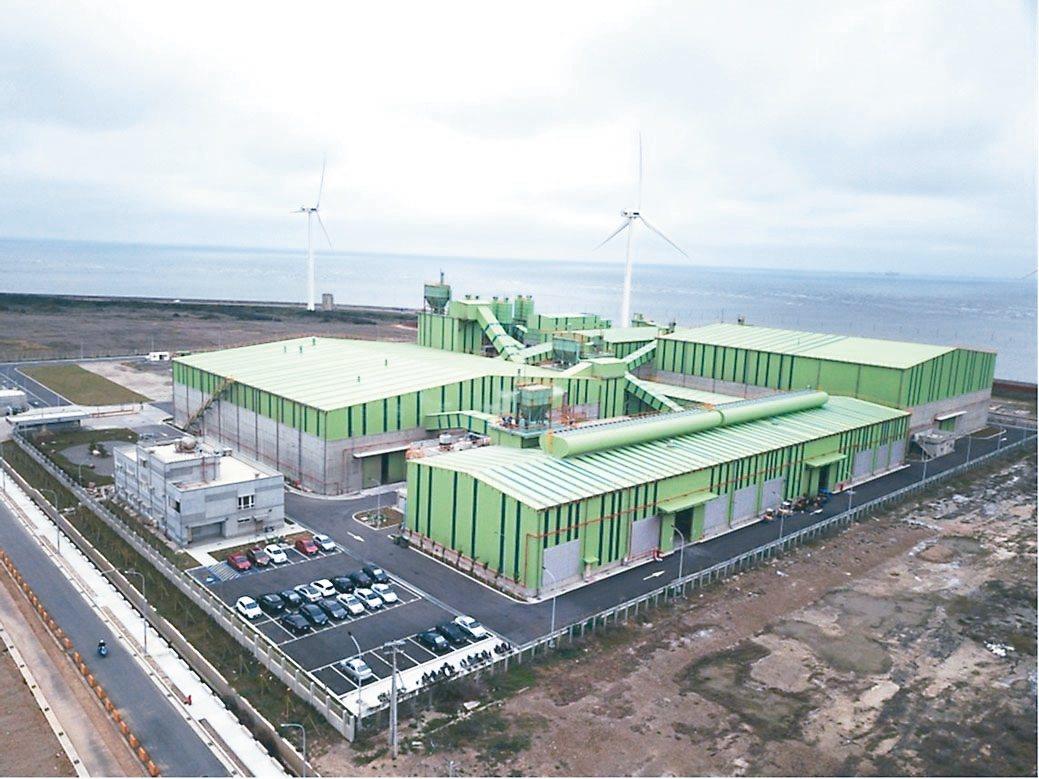 台鋼資源在彰濱工業區有多棟綠色廠房。 台鋼資源/提供
