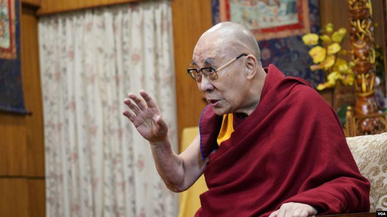 達賴喇嘛。取自美國之音