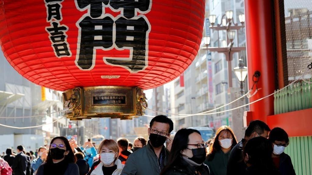 疫情中日本東京資料圖片 路透社圖片