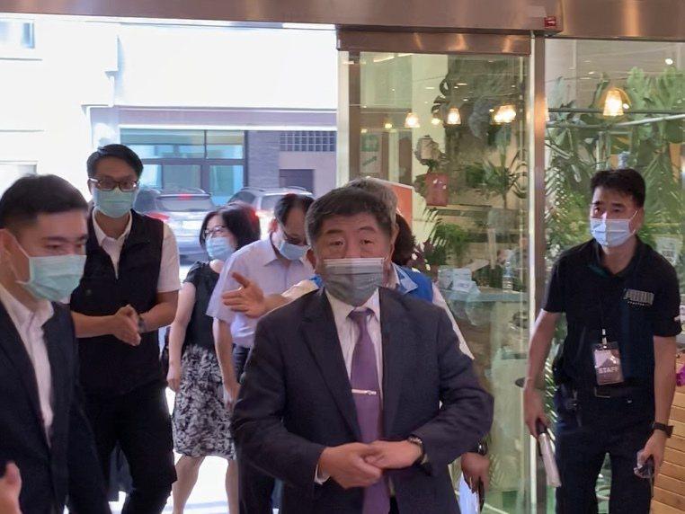 衛福部長陳時中回應前總統李登輝辭世,他表示非常傷痛。記者巫鴻瑋/攝影