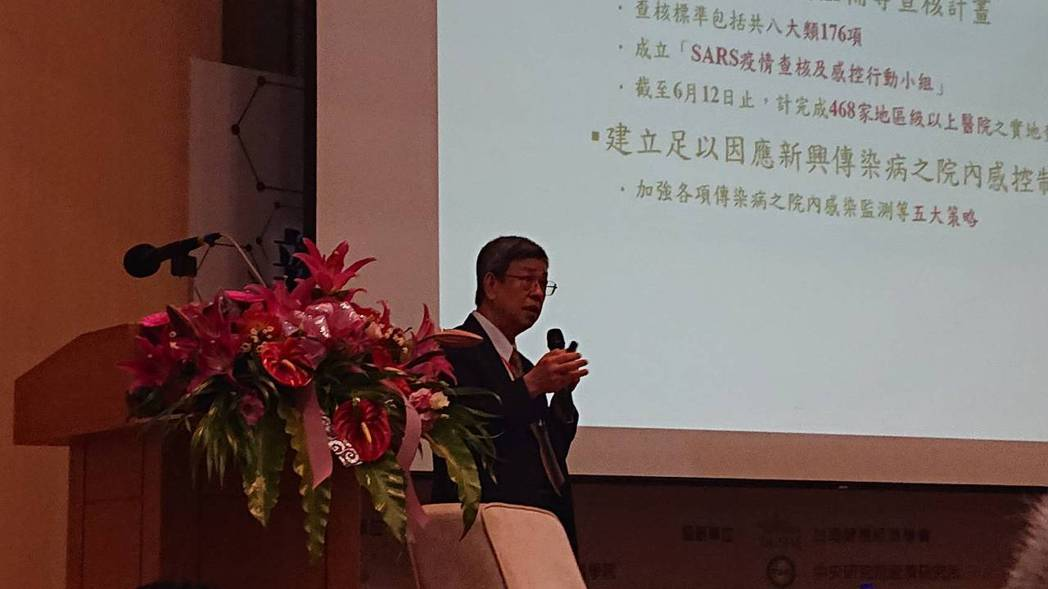國內新冠肺炎疫情蠢蠢欲動,前總統陳建仁今出席「新冠病毒政策對應研討會」時提及,雖...