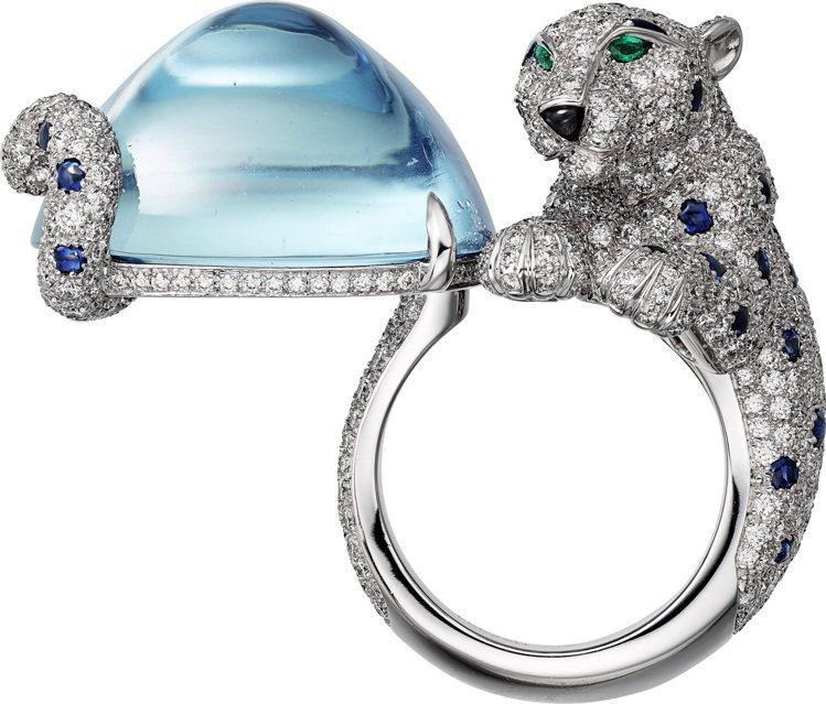 Cartier,Panthère de Cartier頂級珠寶戒指,搶眼的40....