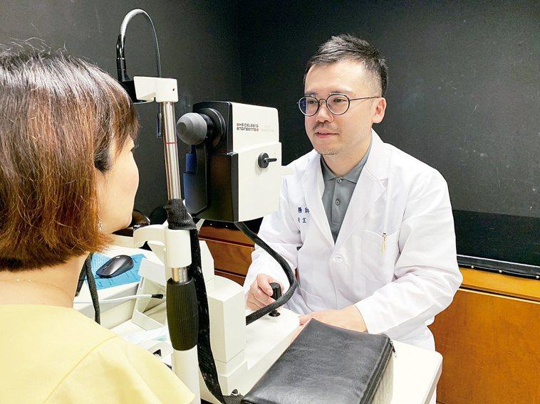 馬偕醫院眼科主治醫師周宜德 攝影╱王柏云