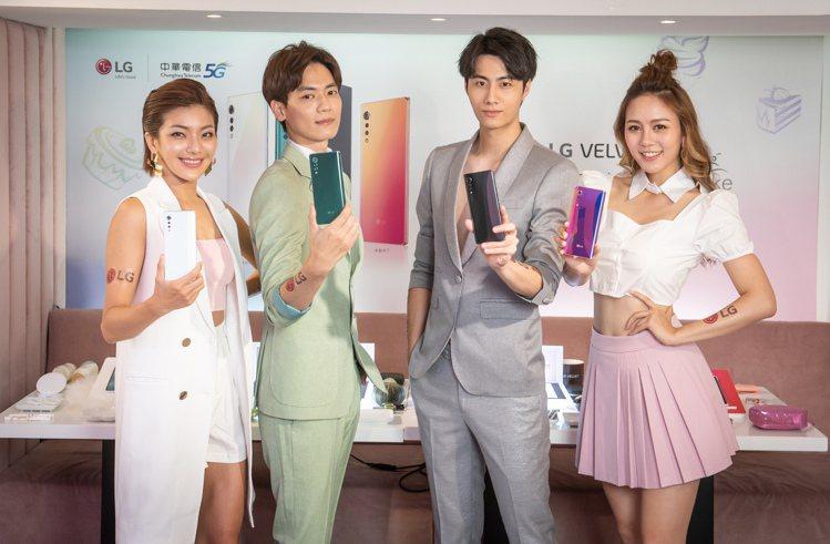 LG推出輕旗艦5G手機LG VELVET「蛋糕機」,全系列4色即日起開賣,單機價...