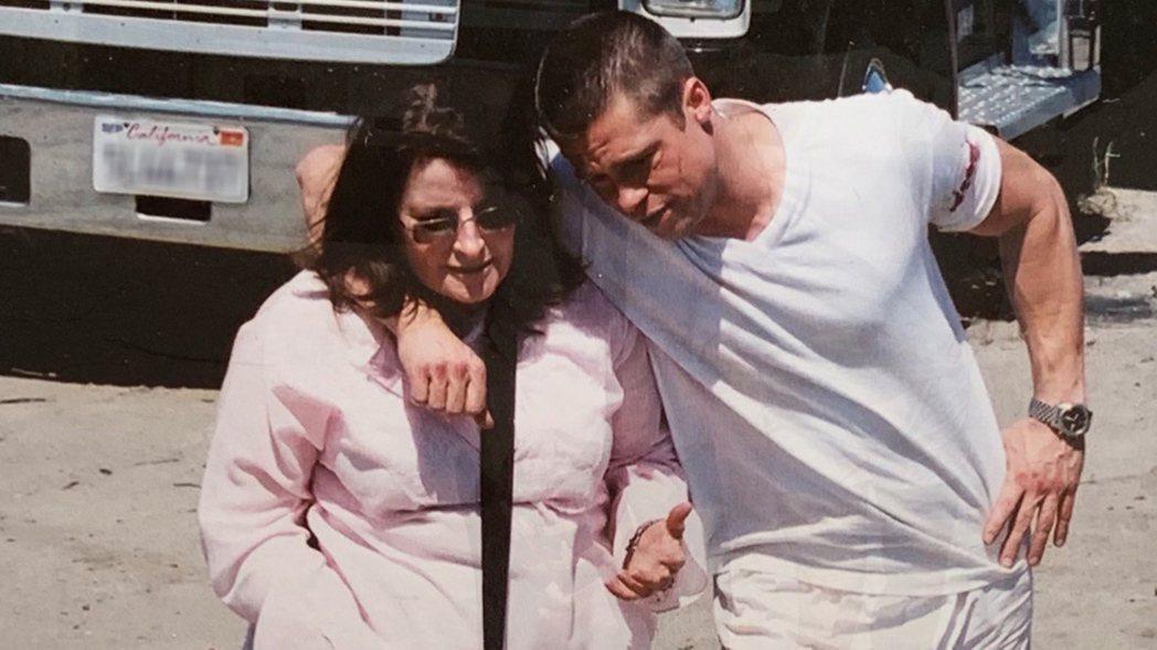 吉茵(左)為布萊德彼特(右)有快30年的交情,合作過40多部戲。圖/TLC旅遊生...