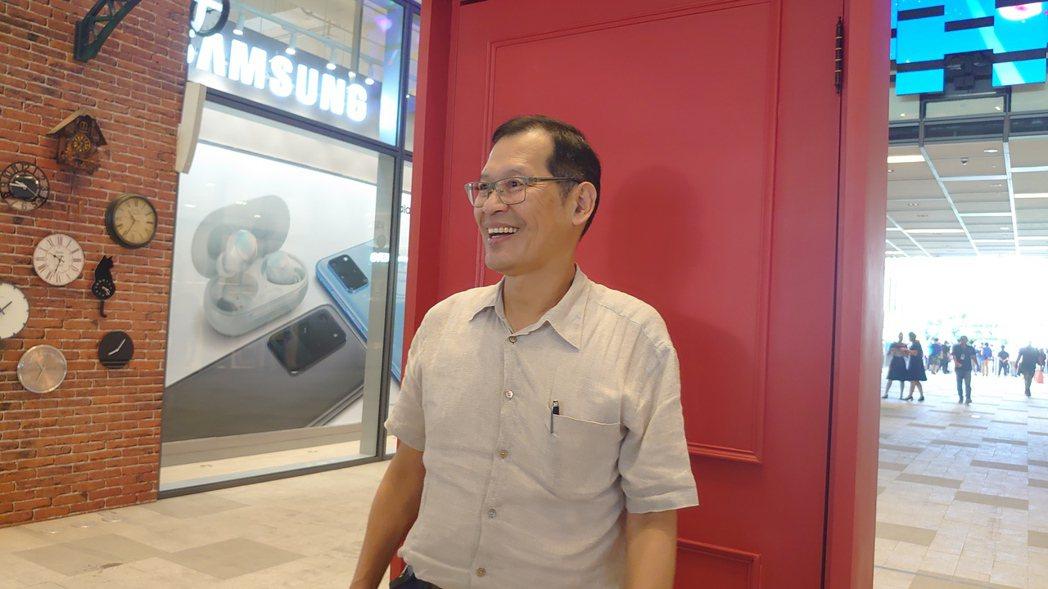 宏匯集團董事長許崑泰。記者何秀玲/攝影