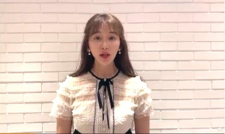 林志玲昨天曝光短片,許多網友發現她身形出現變化!圖/擷自林志玲微博