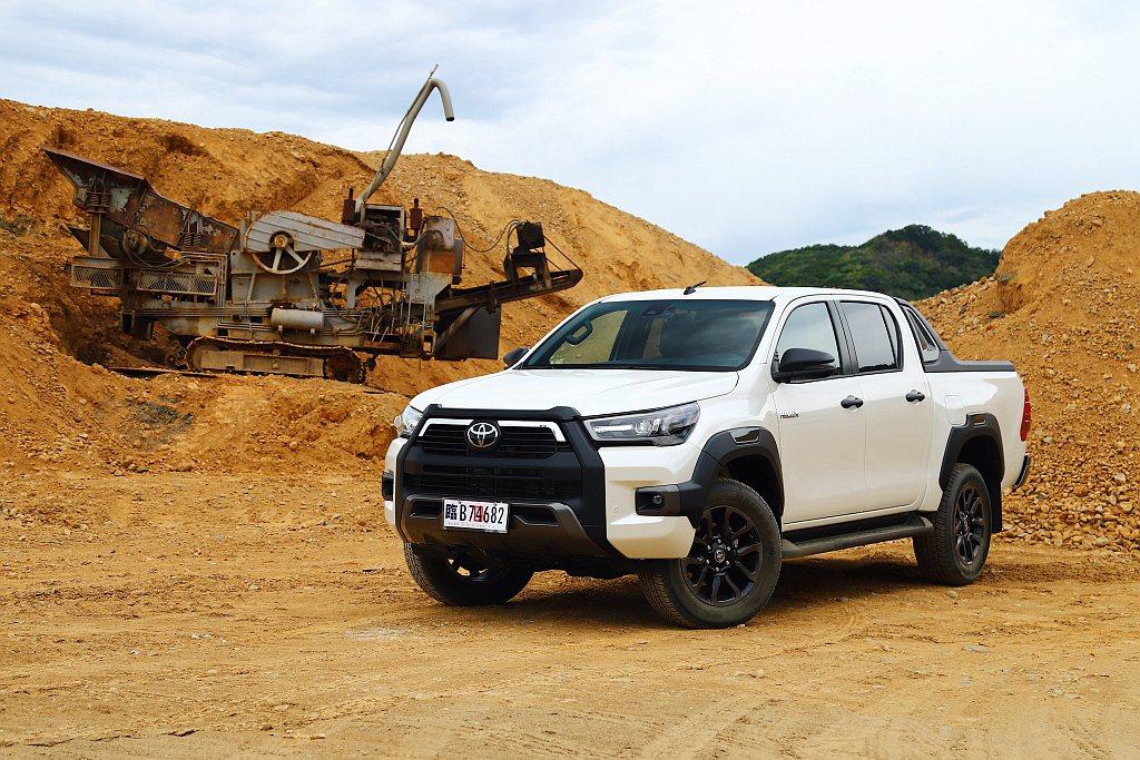 Toyota Hilux去年7月底發表後,短短兩周就宣布年度配額500台完售。 ...