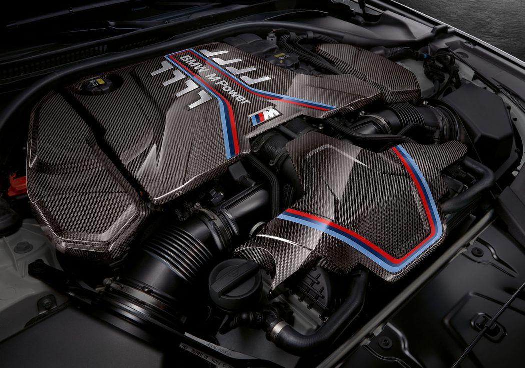 BMW M5/M5 Competition才有的M Performance en...