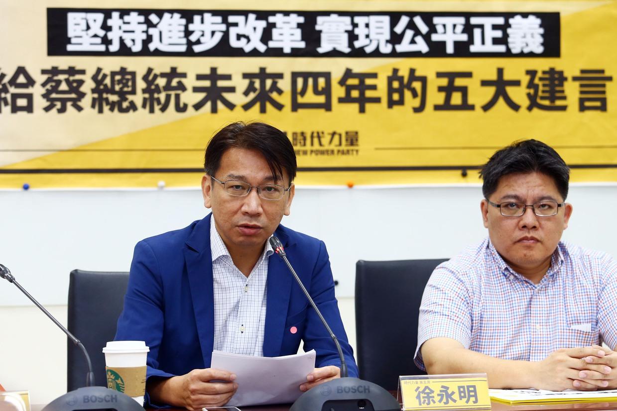 徐永明涉貪 代理黨主席邱顯智:對不起,讓你們失望了