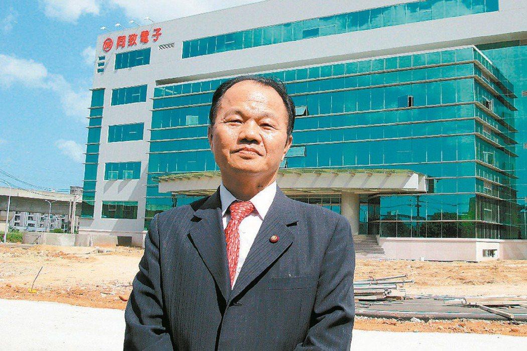 同致董事長陳信忠 (本報系資料庫)