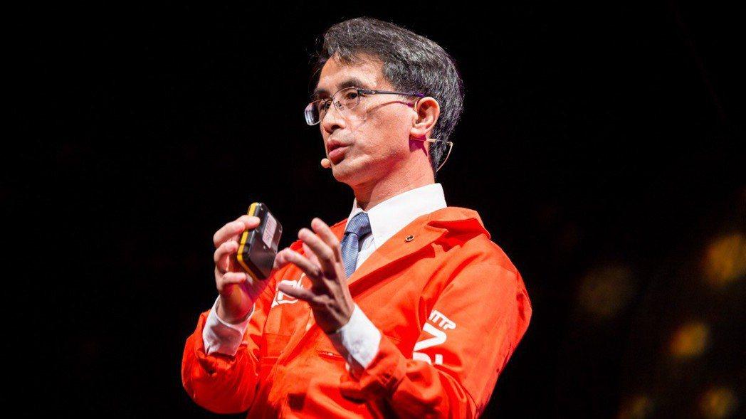 「火箭阿伯」、交大機械系特聘教授吳宗信。 圖/吳宗信提供。