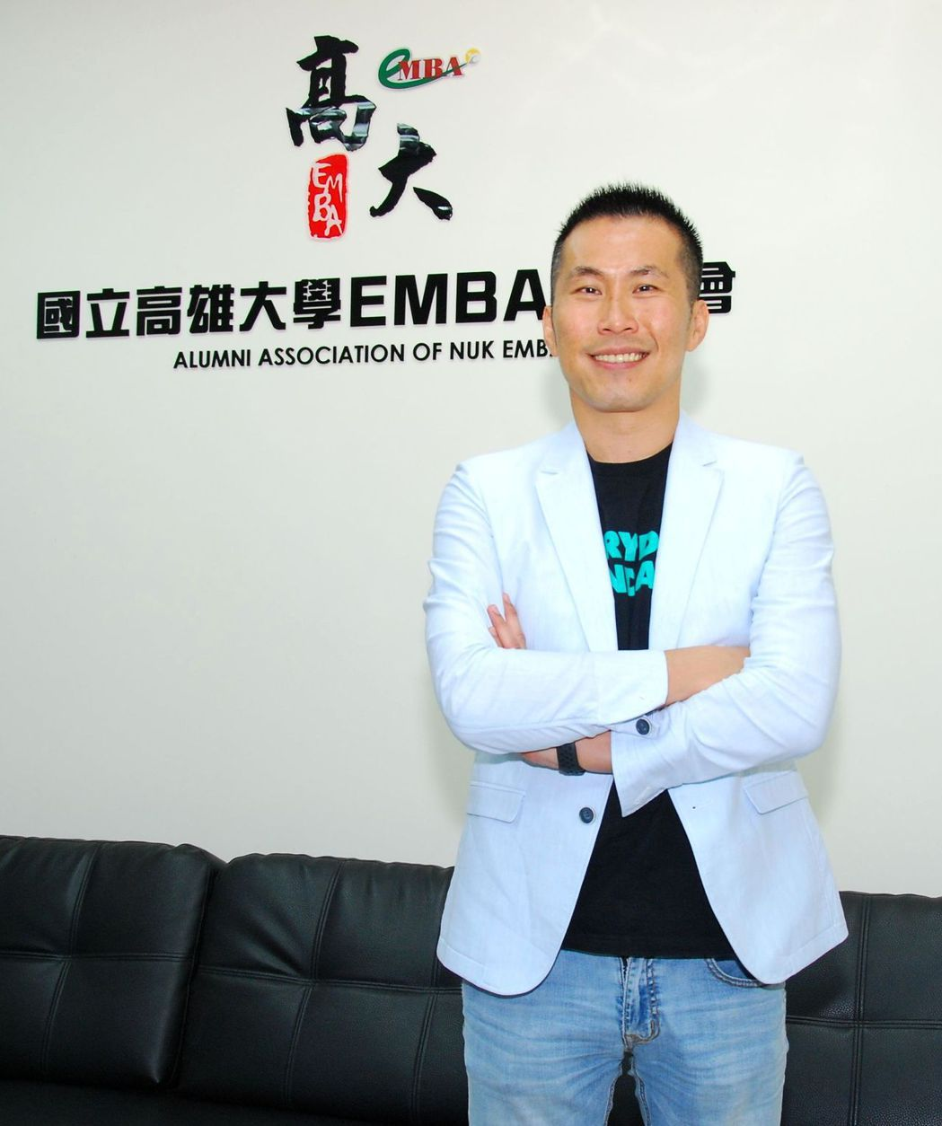 高雄大學資管系教授(EMBA中心主任)楊書成博士。 楊鎮州/攝影
