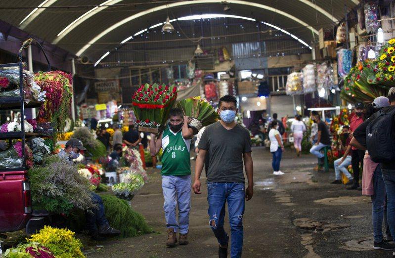 墨西哥超越英國成為全球染疫死亡病例數第3高的國家。 圖/美聯社