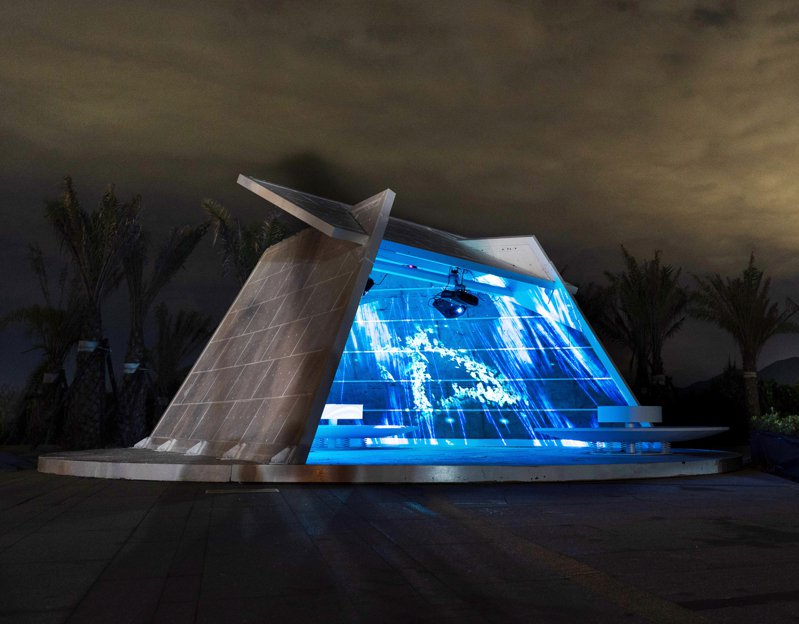 朱銘美術館8月周末夜免費入館,4處景點璀璨光影盛宴。圖/朱銘美術館提供