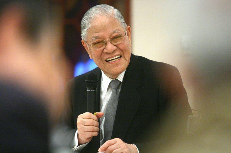 前總統李登輝卅日晚間病逝台北榮總。圖/聯合報系資料照片