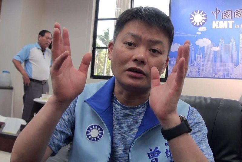 高雄市國民黨團茶壺內的風暴愈演愈烈,黨團總召曾俊傑今天上午聲明辭去總召。圖/本報資料照片