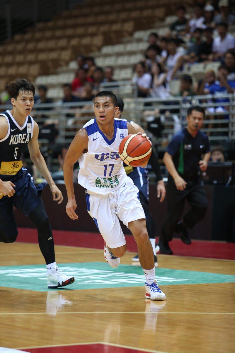 高國豪加入「BE HEROES經典挑戰籃球賽」未來之星陣容。圖/展逸國際企業提供