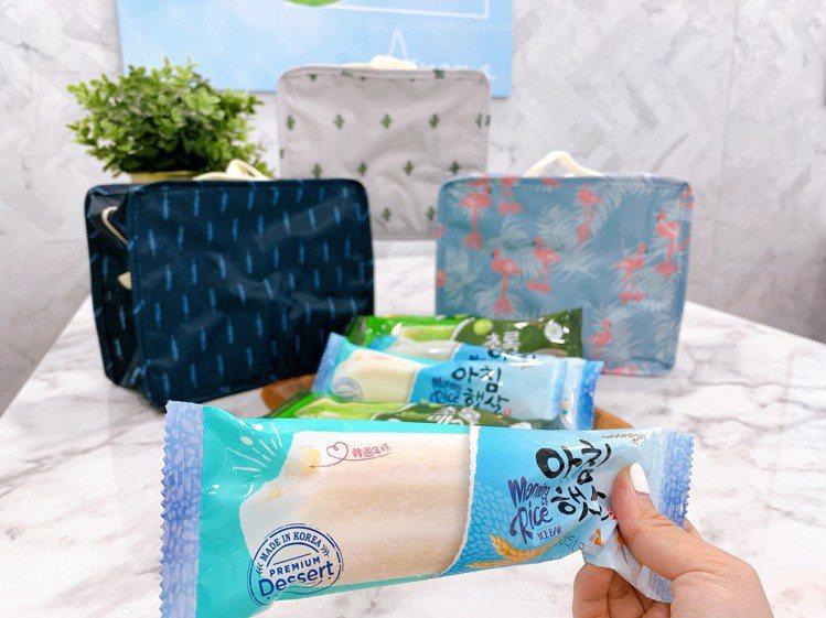 7-ELEVEN即日起至8月25日推出韓國熊津米漿冰、韓國熊津青梅冰系列冰品任選...