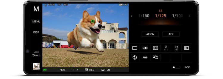 Sony Xperia 1 II為全球首款具備動物眼即時眼部追蹤對焦功能的手機。...