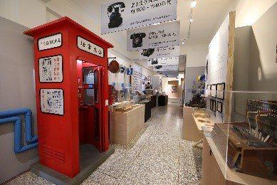 一樓展場「說故事-台灣電信史」,以通訊歷史為主。圖/迪化二0七博物館提供