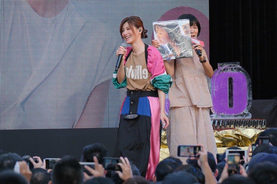 蘇慧倫暌違13年今天舉辦簽唱會,唱哭台下男粉。圖/相信音樂提供