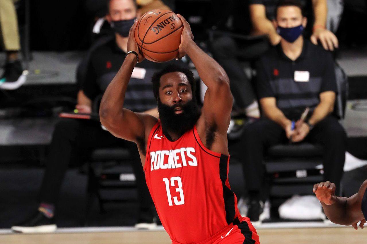 NBA/狂飆49分哈登隊史得分榜僅次於歐拉朱萬