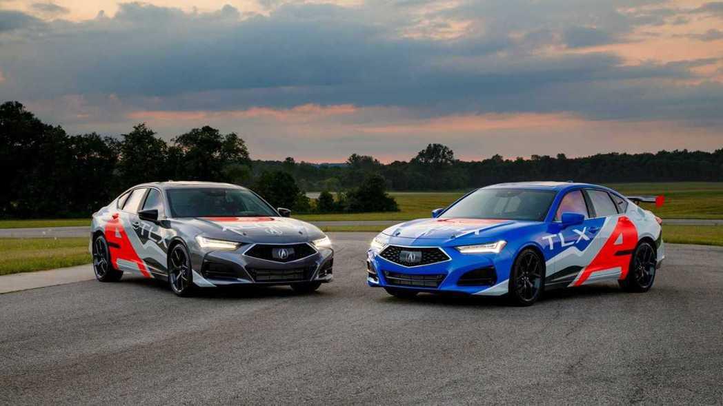 Acura將會派兩台車參加2021 Pikes Peak派克峰爬山賽。 摘自Ac...