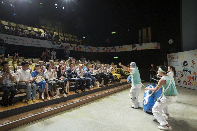 影像博物館近年舉辦兒童影展,每逢夏季吸引大批親子朝聖。圖/新竹市政府提供