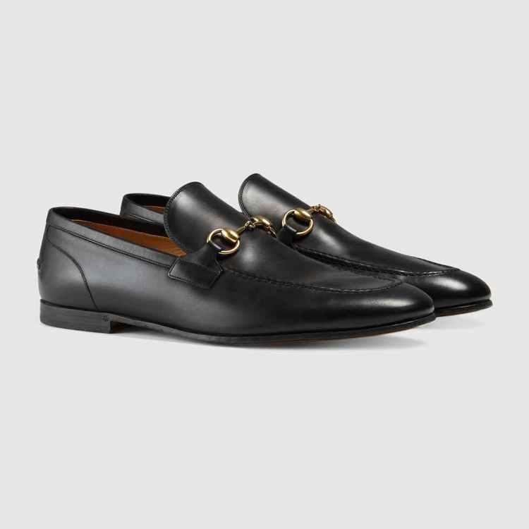 Jordaan系列皮革馬銜鍊樂福鞋,價格店洽。圖/GUCCI提供