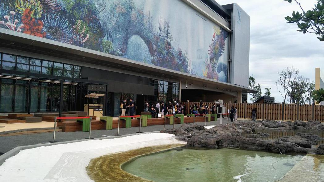 桃園市青埔台灣首座X-park八景島水族館8月7日開幕。 記者曾增勳/攝影