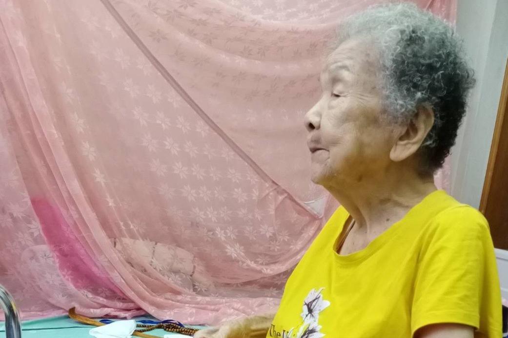 98歲嬤迷電動 愈打頭腦愈清醒
