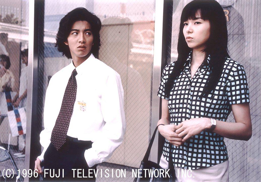 「長假」為木村拓哉(左)首部擔綱男主角的代表作品,與山口智子合作演出。圖/八大提