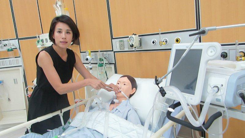 太平洋醫材公司董事長鍾安婷提前部署因應。記者范榮達/攝影