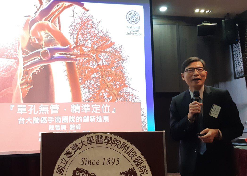 台大醫院胸腔外科主任陳晉興指出,已經有諸多國內外實證顯示LDCT可有較提升早期診...