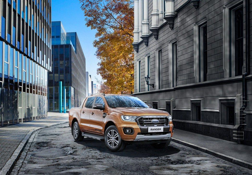 全新Ford Ranger運動型安全智慧科技再進化,搭載全新360°環景影像行車...
