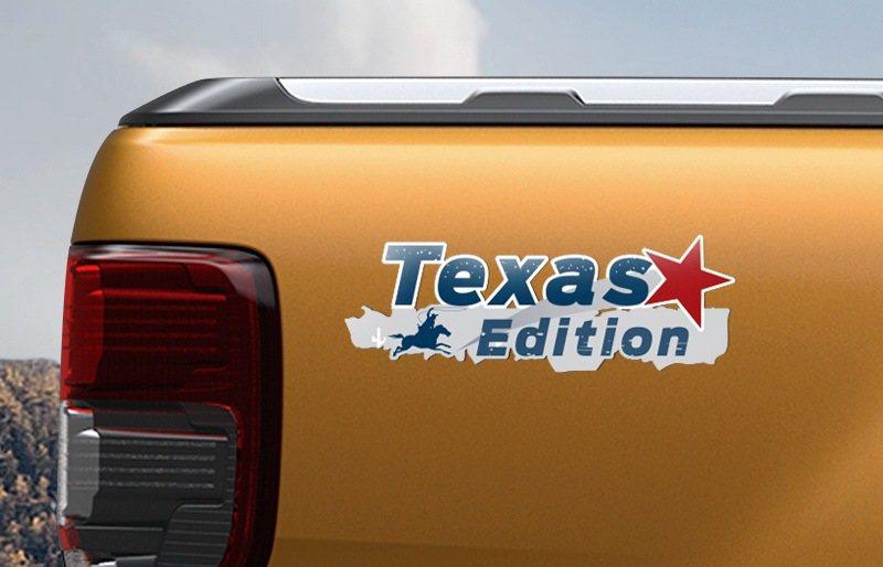 Ford Ranger Texas Edition德州騎兵版之德州騎兵專屬車貼盡...