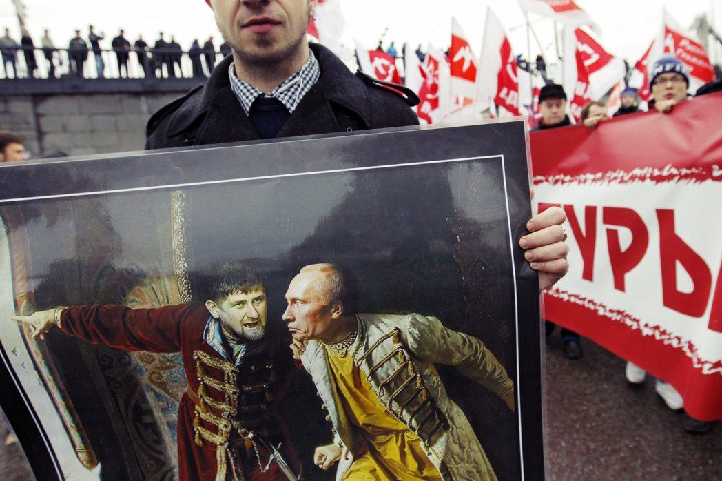 「若沒有普丁,車臣就不存在。」 圖/歐新社