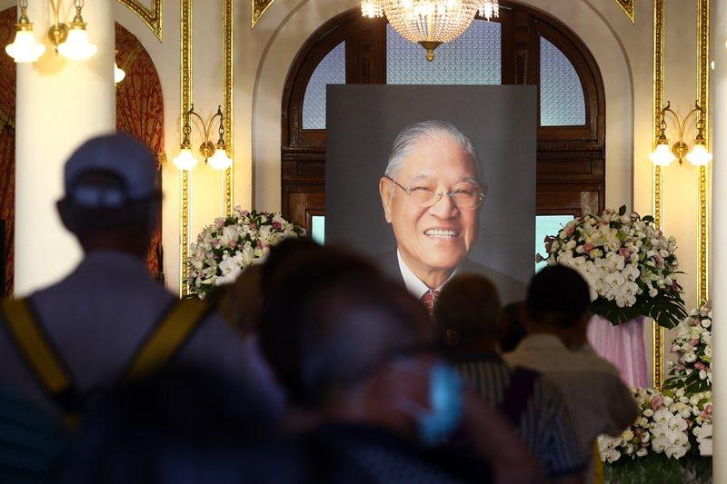 2020年7月30日,前總統李登輝逝世。 圖/聯合報系資料照