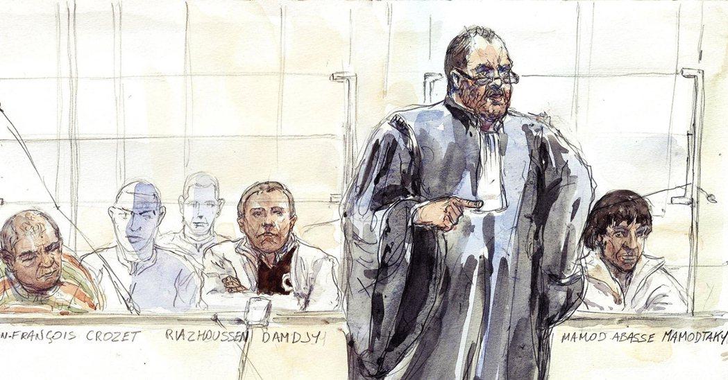 在法國有「鬥牛士」之稱的大律師迪蓬–莫雷蒂(Éric Dupond-Morett...