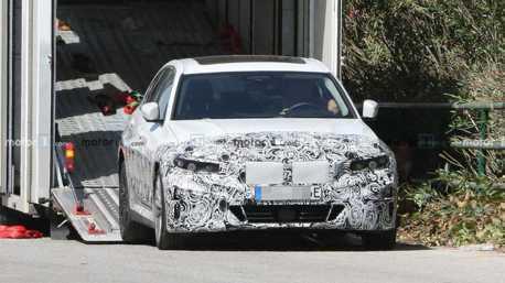 全新BMW 3-Series純電動力車款曝光 上市時間仍是個謎