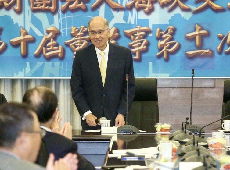 蔡英文總統宣布,由海基會董事長李大維接任府秘書長。 聯合報系資料照/記者林俊良攝影