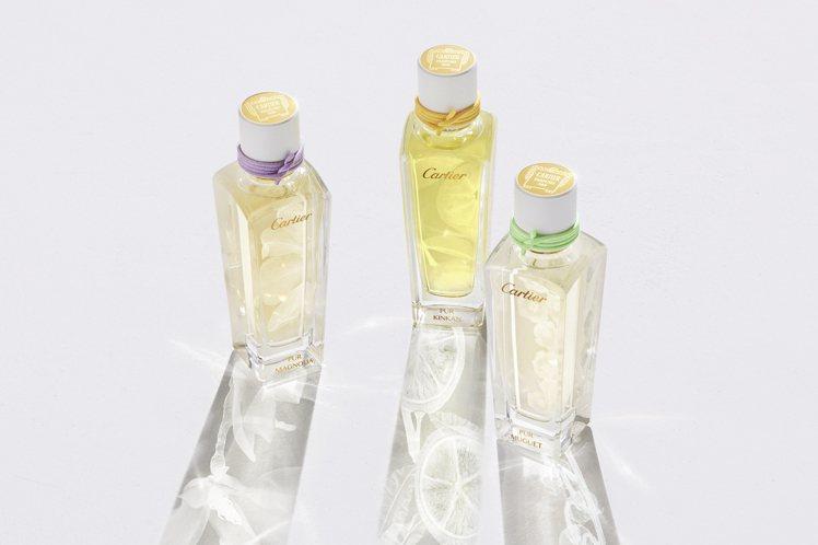 卡地亞全新Épures de parfum香水系列。圖/卡地亞提供