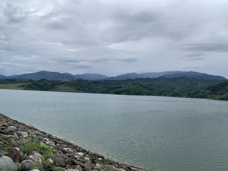 雲林湖山水庫至今天上午止水位已上升至211.28公尺,接近滿水位。記者陳苡葳/攝影