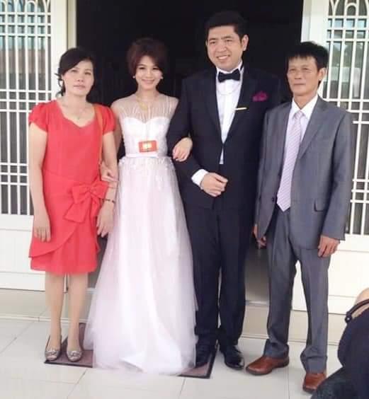 朱海君父母當年送她出閣嫁給NONO。圖/摘自臉書