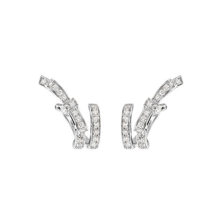 Ruban耳環,25萬6,000元。圖/香奈兒提供