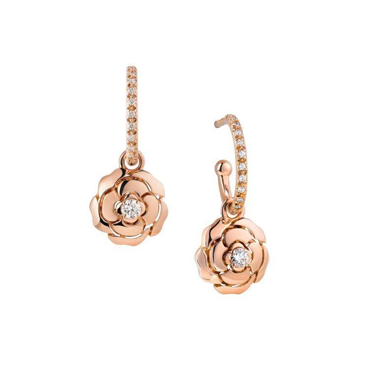 Bouton de Camélia耳環,16萬9,000元。圖/香奈兒提供