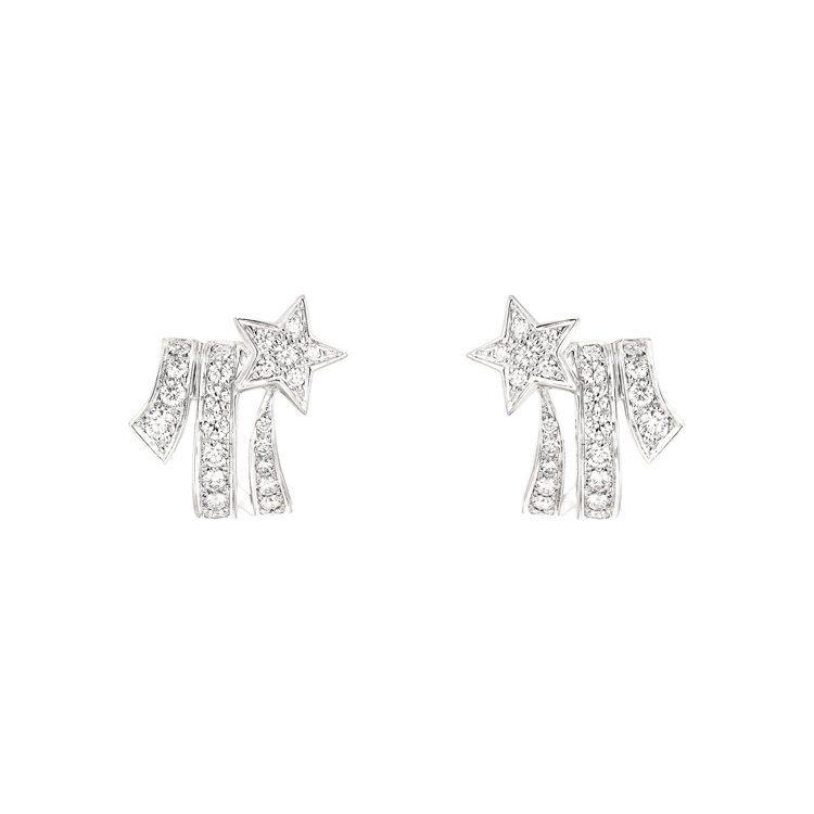 Comète耳環,25萬元。圖/香奈兒提供
