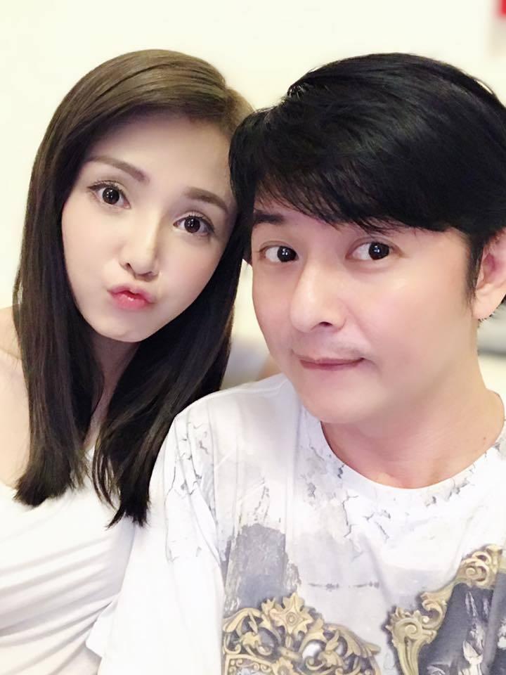 陳子玄(左)和陳建隆離婚後仍風波不斷。圖/摘自臉書