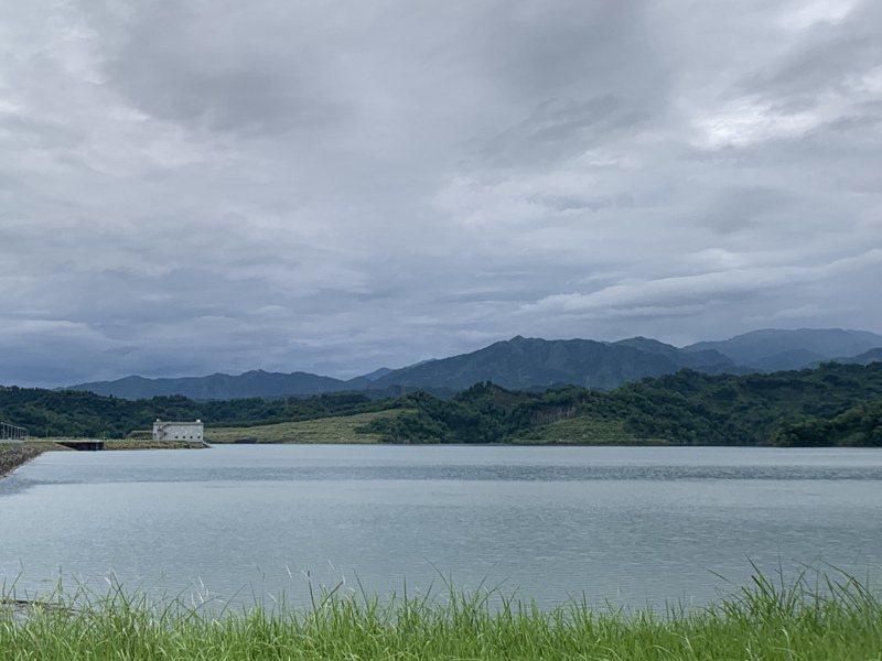 雲林湖山水庫至昨天水位已上升至211.28公尺,接近滿水位。記者陳苡葳/攝影
